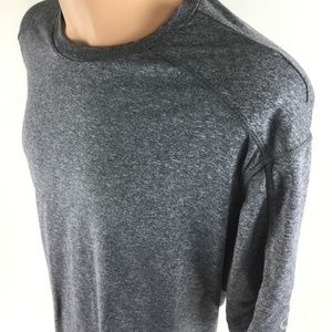 CHAMPION Men's Grey Crewneck Short-Sleeve Shirt